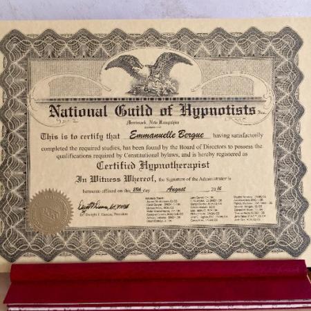 HYPNOTHERAPEUTE CERTIFIEE N.G.H.